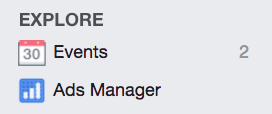 The Ads Manager of Facebook