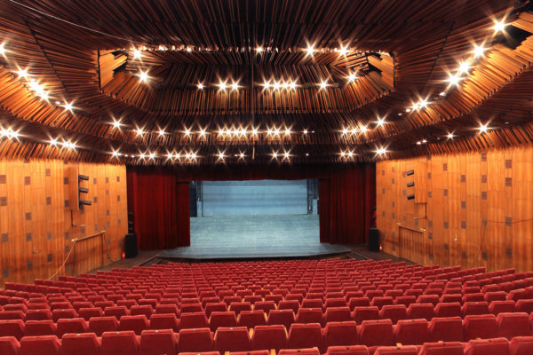 Inside the Craiova theatre